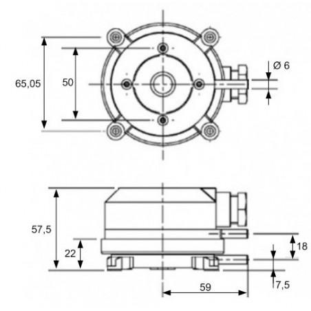 Sonde de surface active pour tuyauterie