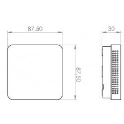 CANNE PYROMETRIQUE 1 x K LONGUEUR 500 mm