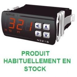 Thermostat différentiel 1 relais livré avec 2 capteurs alimentation 230 Vac