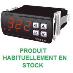 Thermostat différentiel 2 relais livré avec 2 capteurs alimentation 230 Vac