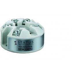 Transmetteur de température thermocouple K,J,N,E,T,R,S en 4/20 mA paramétrage par PC