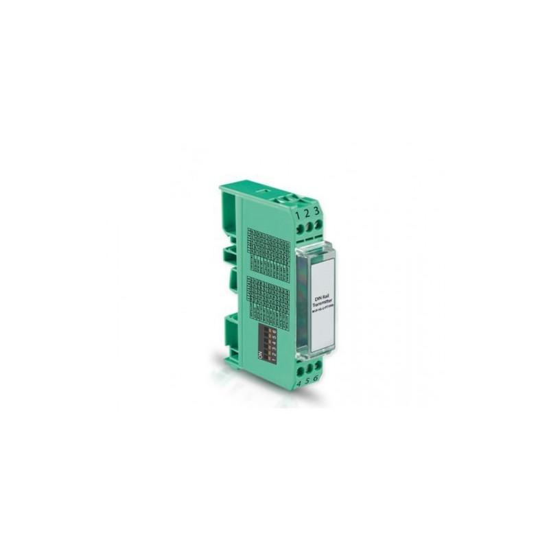 TRANSMETTEUR RAIL DIN ENTREE Pt1000 et Pt100 SIGNAL 0/10 V