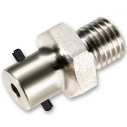 Embase M12 diamètre 6 mm pour baillonnette de 12,5 mm