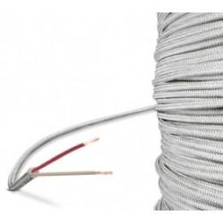 Câble soie de verre en 2 fils
