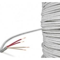 Câble soie de verre en 4 fils
