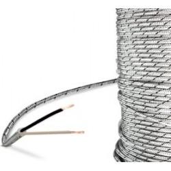 Cable thermocouple J isolé soie de verre