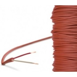 Câble Silicone en 2 fils