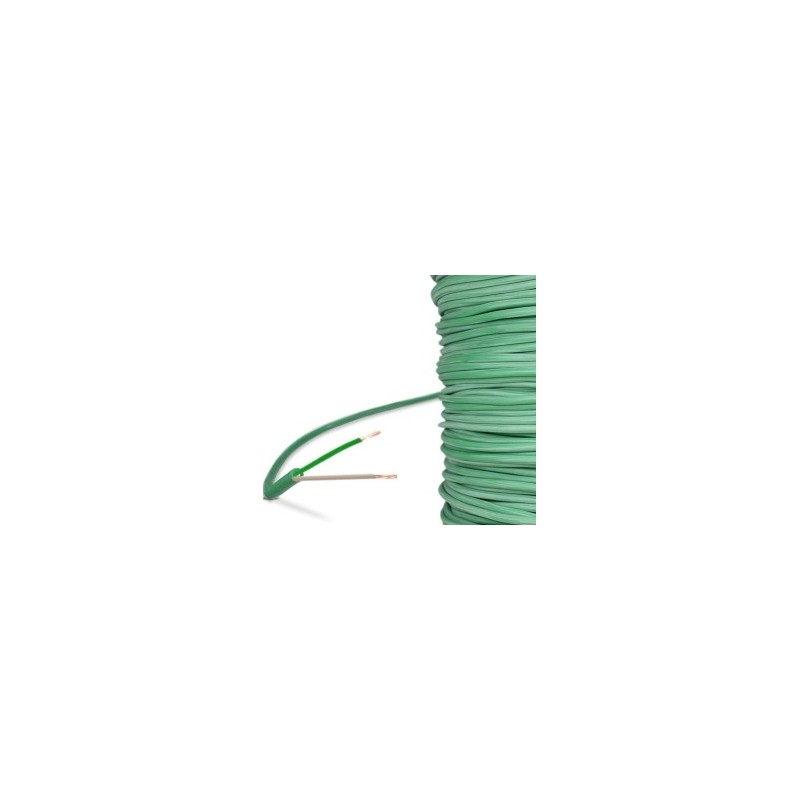 Cable thermocouple K isolé silicone