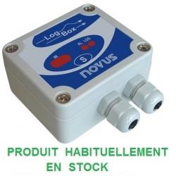 Enregistreur 2 voies température + Signal analogique 64000 points IP65