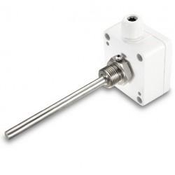 Sonde Pt100 sur boitier avec doigt de gant inox 1/2 G x 50 mm