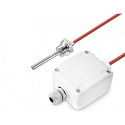 Sonde à visser 1/2 G x 100 mm, câble silicone, sortie  active