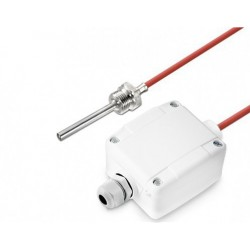Sonde à visser 1/4 G x 100 mm, câble silicone, sortie  active