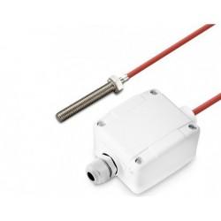 Sonde à visser M8 x 50mm active sur câble silicone