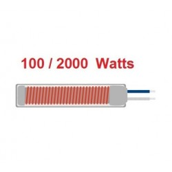 Cartouche chauffante diamètre 10x200mm de 800Watt