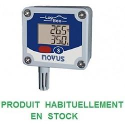 Enregistreur humidité et température 32000 points avec LCD