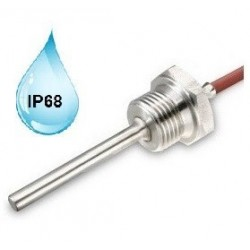 """FILETAGE G 1/4"""" CABLE SILICONE -50 / + 180°C IP68"""