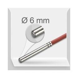 SILICONE diam. 6 mm