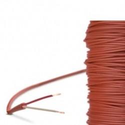 CABLE SILICONE -50 / +180 C EN 2 FILS