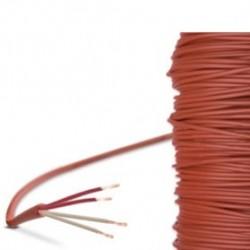 CABLE SILICONE -50 / +180 C EN 4 FILS