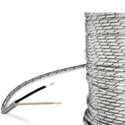 CABLE THERMOCOUPLE J FIBRE DE VERRE -50 / +400 C